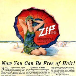 Реклама эпиляции нисколько не изменилась