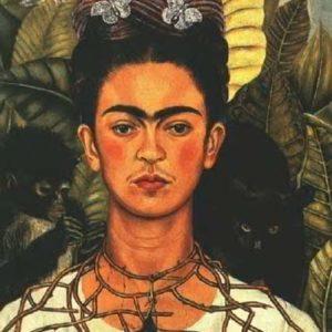 Фрида Кало, сросшиеся брови