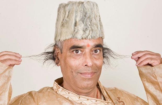 Радхакант Баджпай попал в книгу рекордов Гиннеса из-за своих волос