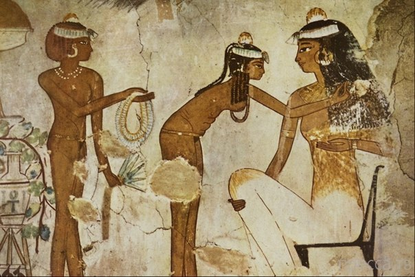 Эпиляция в Древнем Египте