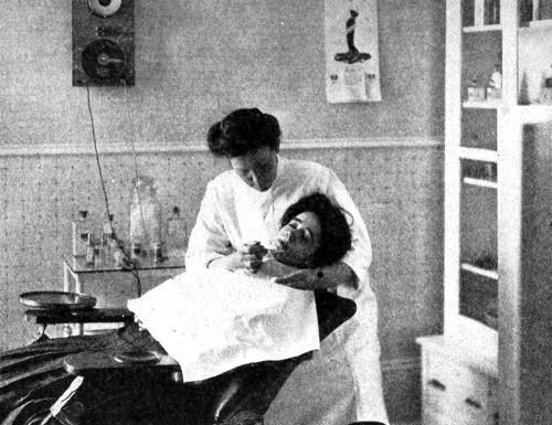 Депиляция кремом в салоне (1907 г.)