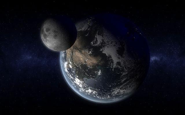 Земля и ее спутник