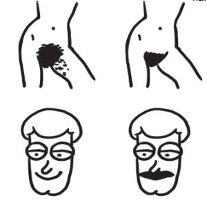 Двойные стандарты в нормальной волосатости